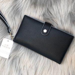 Coach / Navy Blue Wallet